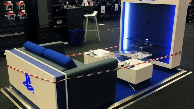 Los stand de PlayStation no están relacionados con PS5