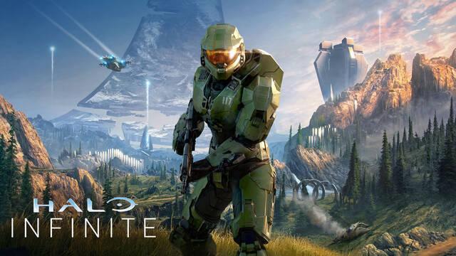 Halo Infinite desvela su arte de portada.