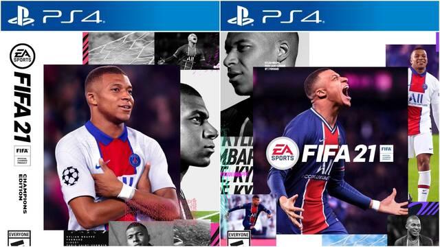 Así son las portadas de FIFA 21