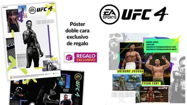 Incentivos por reservar UFC 4 en GAME.