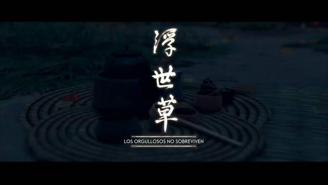 Los orgullosos no sobreviven al 100% en Ghost of Tsushima