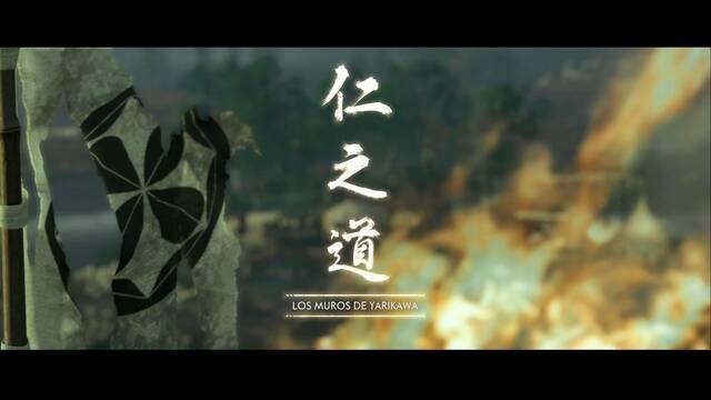 Los muros de Yarikawa al 100% en Ghost of Tsushima