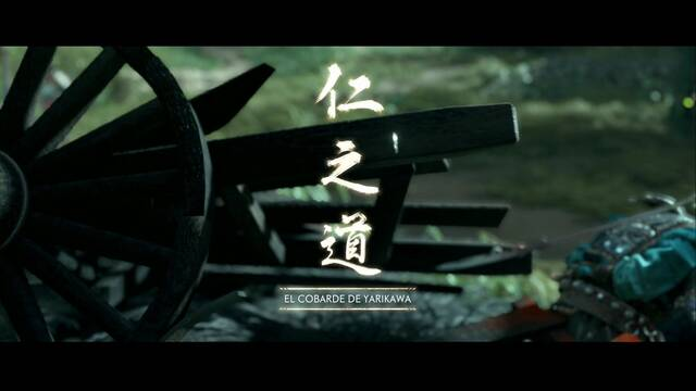 El cobarde de Yarikawa al 100% en Ghost of Tsushima