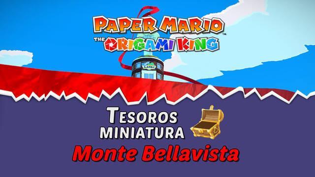 TODOS los tesoros en Monte Bellavista de Paper Mario The Origami King