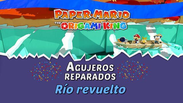 TODOS los agujeros en Río revuelto de Paper Mario The Origami King