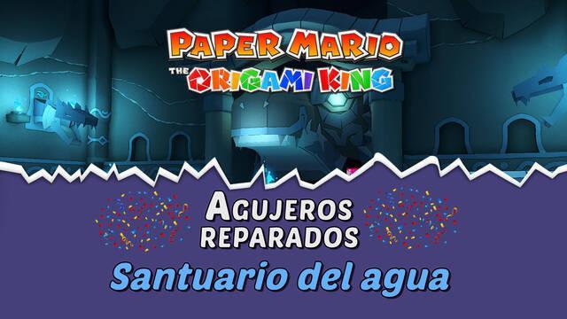 TODOS los agujeros en Santuario del agua de Paper Mario The Origami King