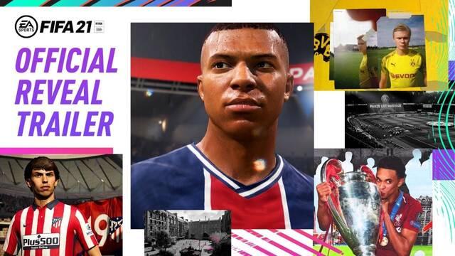 Primer tráiler oficial de FIFA 21.