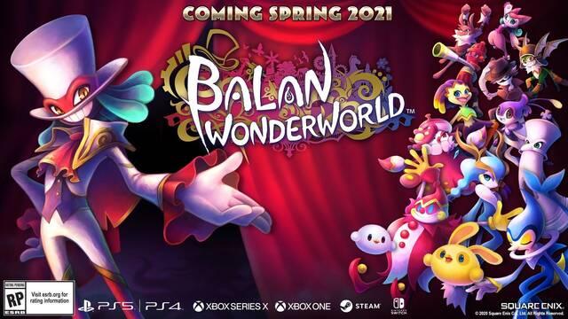 Balan Wonderworld llegará a todas las plataformas en 2021.