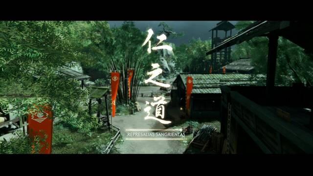Represalias sangrientas al 100% en Ghost of Tsushima