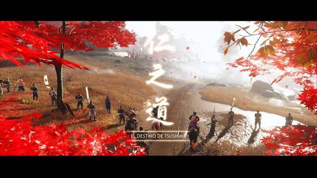 El destino de Tsushima al 100% en Ghost of Tsushima