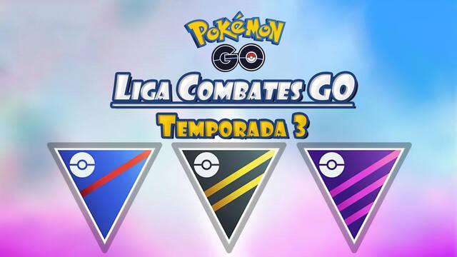 Pokémon Liga Combates GO - Temporada 3: Todas las novedades y fechas