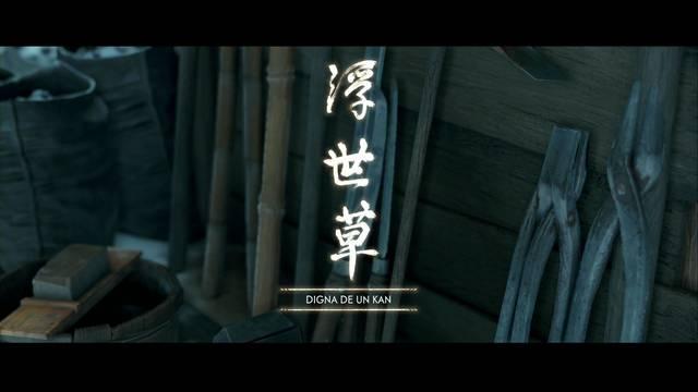 Digna de un kan al 100% en Ghost of Tsushima