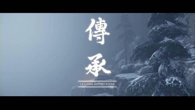 La llama imperecedera al 100% en Ghost Tsushima