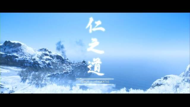 Lobos a las puertas al 100% en Ghost of Tsushima