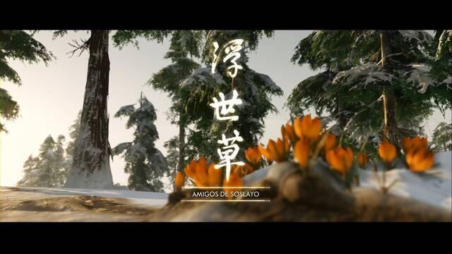 Amigos de soslayo al 100% en Ghost of Tsushima