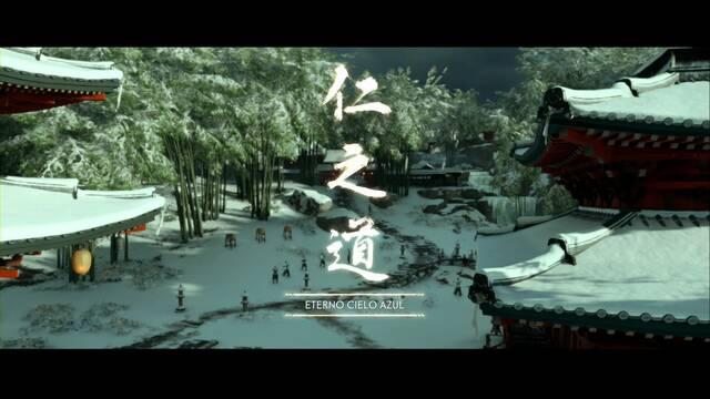 Eterno cielo azul al 100% en Ghost of Tsushima