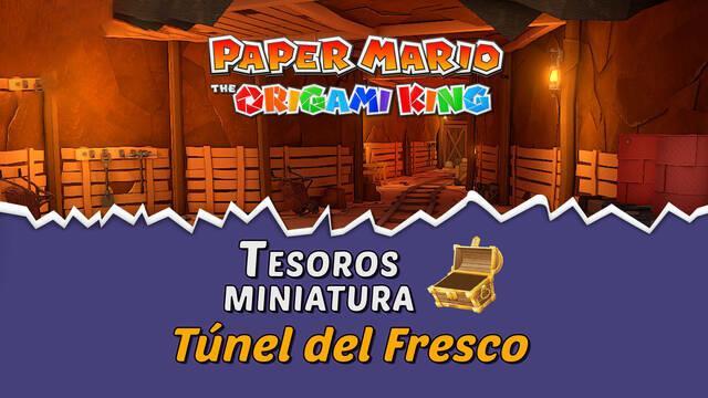 TODOS los tesoros en Túnel del Fresco de Paper Mario The Origami King