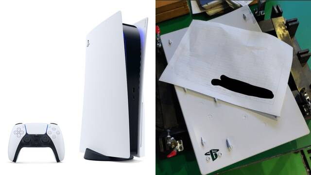 Filtrada la carcasa de PS5.