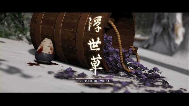 El precio del miedo al 100% en Ghost of Tsushima