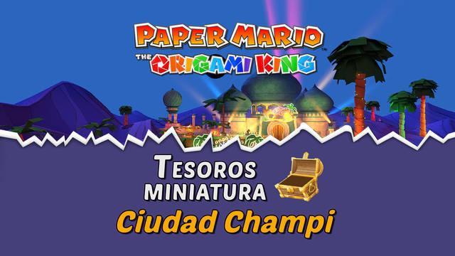 TODOS los tesoros en Ciudad Champi de Paper Mario The Origami King
