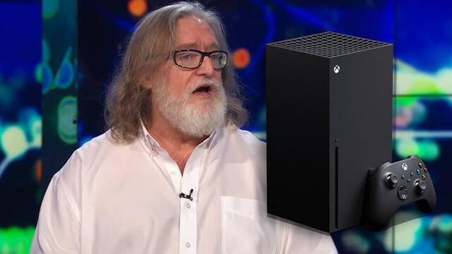 Gabe Newell se decanta por Xbox Series X antes que por PS5.