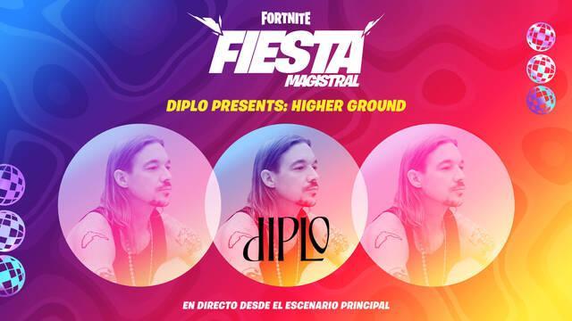 Fortnite: Evento de Diplo Higher Ground, fecha, horarios y cómo ver el concierto