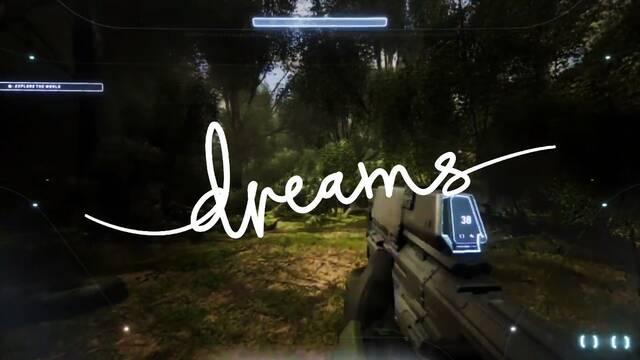 Halo Infinite recreado en Dreams