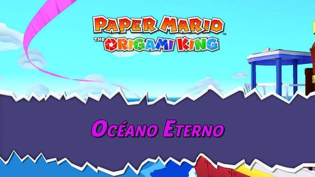 Océano Eterno al 100% en Paper Mario: The Origami King
