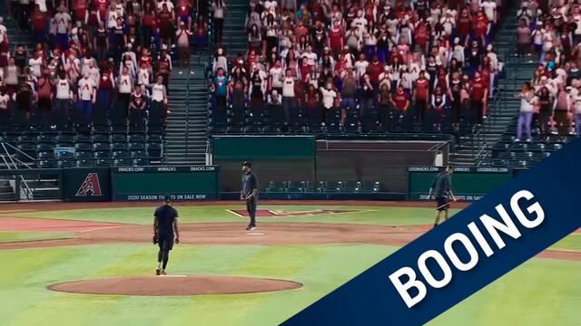 Público virtual en partidos de béisbol