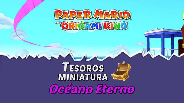 TODOS los tesoros en Océano Eterno de Paper Mario The Origami King