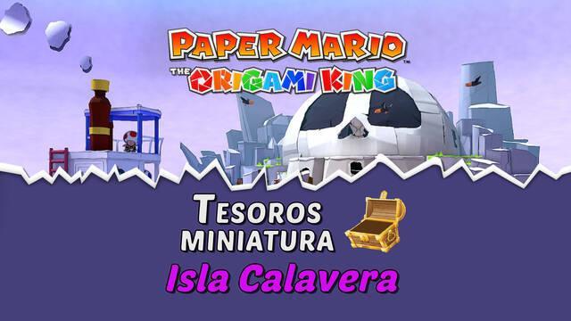 TODOS los tesoros en Isla Calavera de Paper Mario The Origami King
