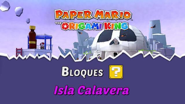 TODOS los bloques ? en Isla Calavera de Paper Mario The Origami King