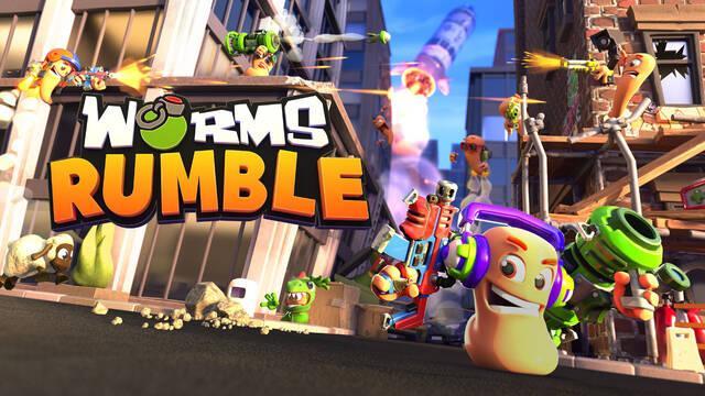 Worms Rumble de PS5, PS4 y PC