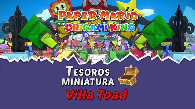 TODOS los tesoros en Villa Toad de Paper Mario The Origami King