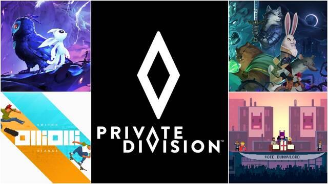 Private Division anuncia un acuerdo de colaboración con tres estudios independientes.