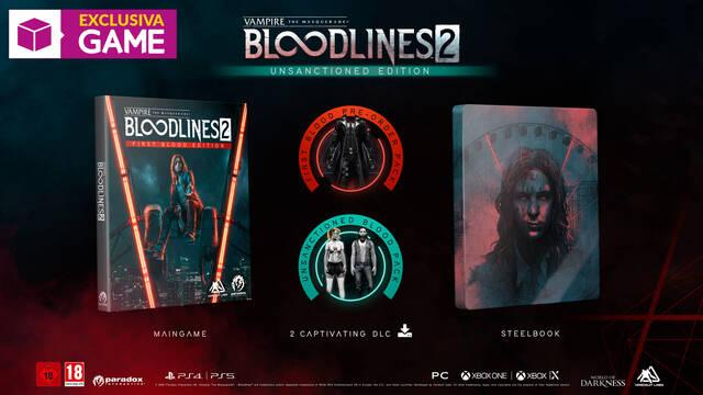 Vampire The Masquerade Bloodlines 2 GAME