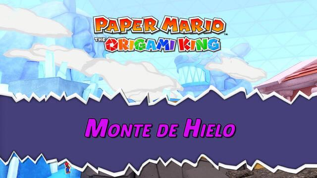 Monte del Hielo al 100% en Paper Mario: The Origami King