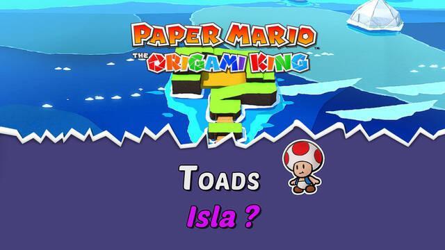 TODOS los Toads en Isla ? de Paper Mario The Origami King