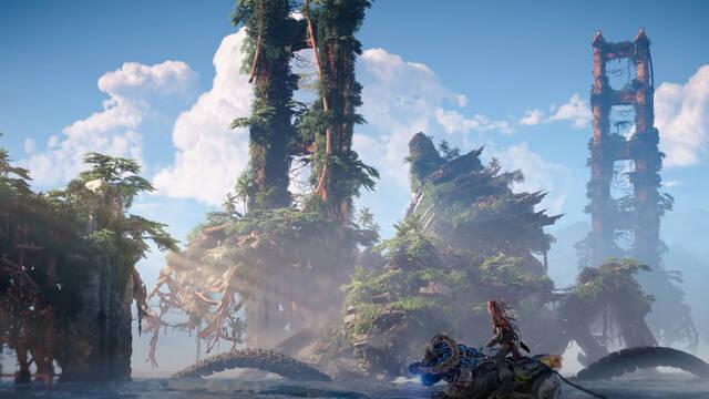 Horizon Forbidden West desvela sus localizaciones.