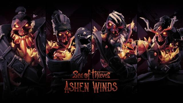 Ashen Winds, actualización de Sea of Thieves