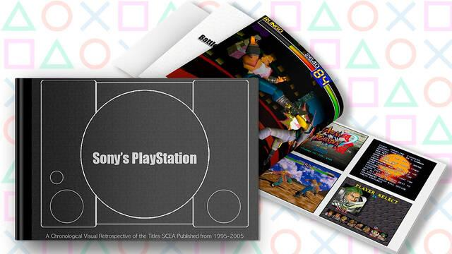 Libro Sony's PlayStation: A Chronological Visual Retrospective of Titles SCEA Published from 1995-2005 en Kickstarter
