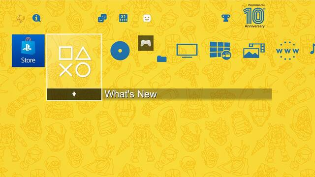 PS4 Tema gratis PS Plus
