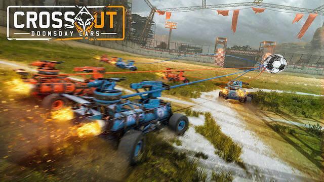 Crossout doomsday cars rocket league