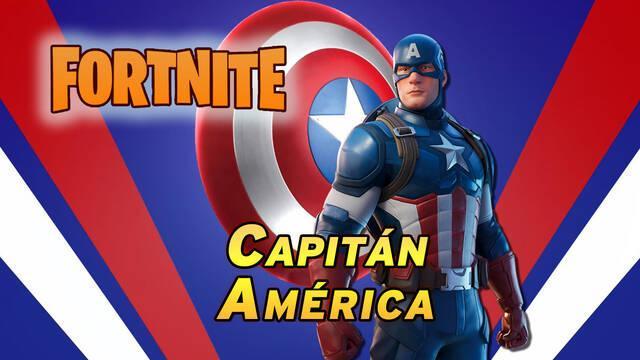Fortnite: Ya disponible el Capitán América, ¿cómo conseguir su skin?