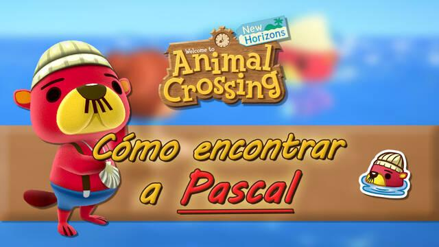 Encontrar a Pascal y conseguir sus recetas en Animal Crossing: New Horizons