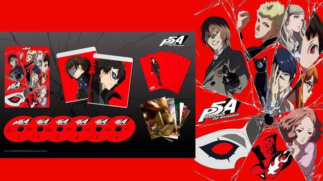 Persona 5 the Animation en Occidente en septiembre