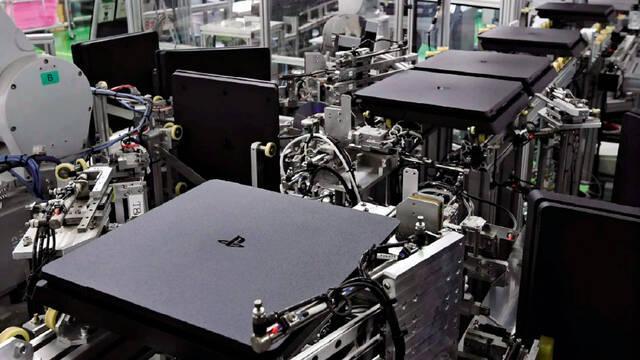 Fábrica de Sony para PS4