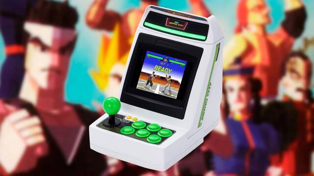 Astro City Mini Arcade con 36 juegos clásicos de Sega