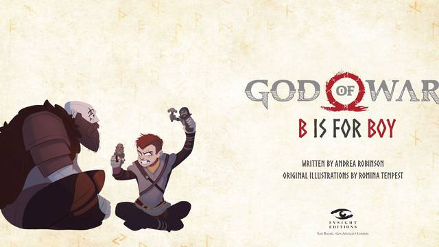 God of War B is for Boy