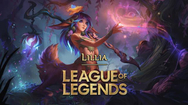 League of Legends presenta a Lillia, la nueva campeona jungla